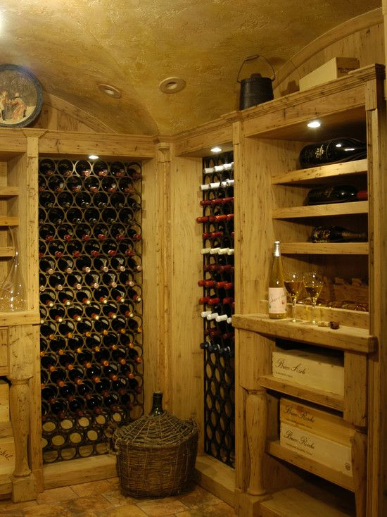 wine cellar photos old world tuscan design pictures remodel decor and ideas page 7 - Home Wine Cellar Design Ideas
