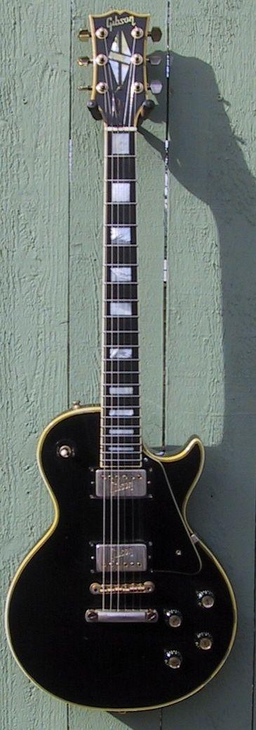 1972 Les Paul Custom Black Beauty
