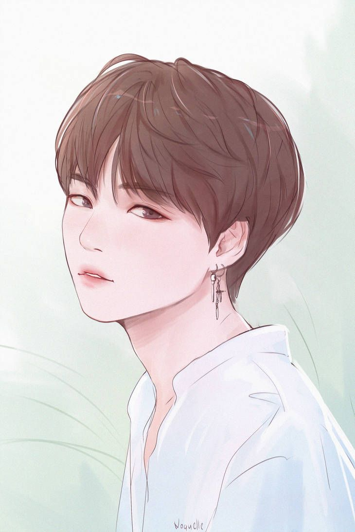 Yoongi By Noquelle Bts Fanart Bts Drawings Anime