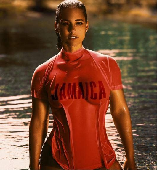 We think Alicia Keys' take on our iconic 1972 ad is definitely all right! See more of the Jamaica Tourist Board's well loved advertisements dating back to the 60's on our YouTube channel: http://bit.ly/1Fna8XK