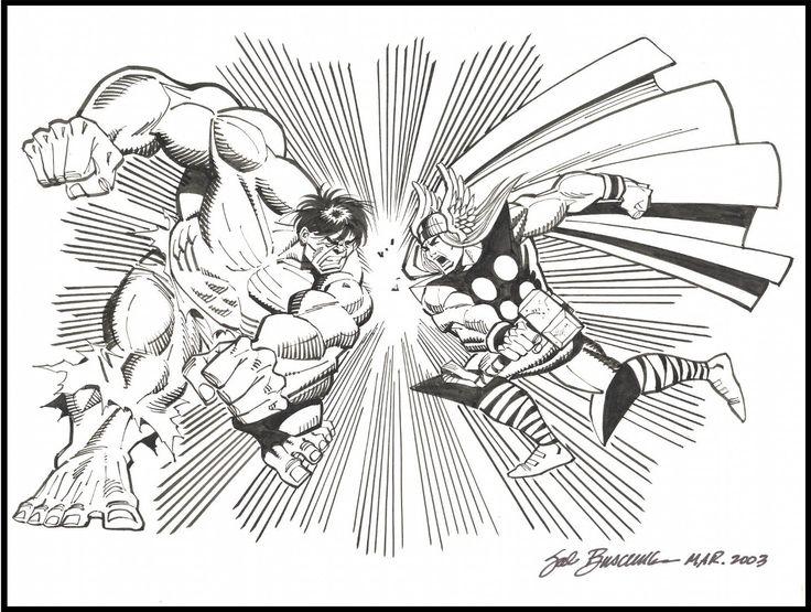 31 best Sal Buscema images on Pinterest | Comic art, Comic books ...