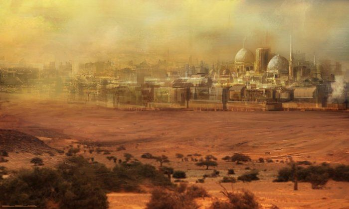 """Arabia has its own legend of a lost city, the so-called """"Atlantis of the Sands"""", which has been the source of debate among a number of ..."""