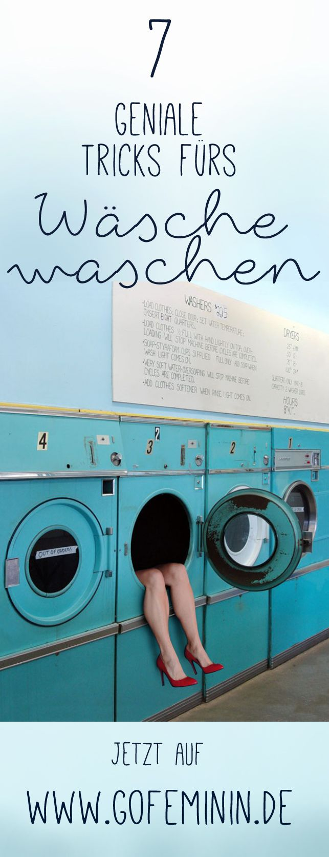 Diese Tricks müsst ihr kennen: http://www.gofeminin.de/styling-tipps/tricks-wasche-waschen-s1471820.html #lifehacks #hacks #laundry #wäschewaschen #haushaltstipps #tippstricks