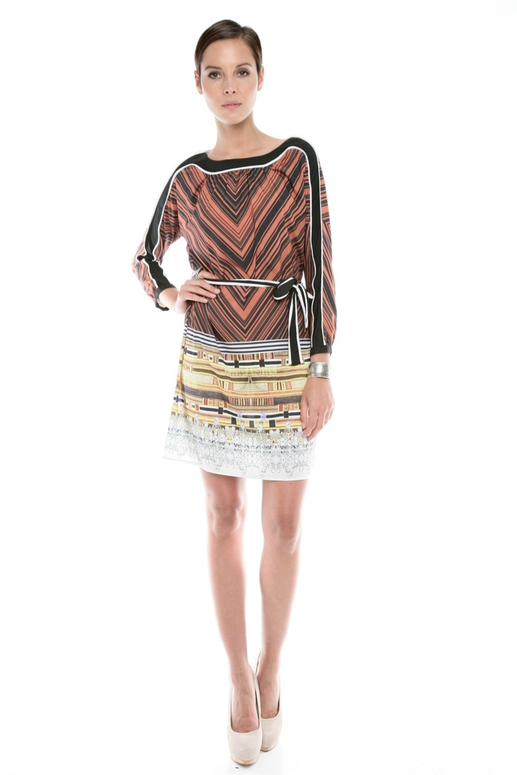 I would wear this dress...Clover Canyon Print Dress