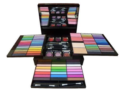 Kit Maquiagem Jasmyne Completo 88 Itens Efeito 3 D - Cr9227 - R$ 119,98