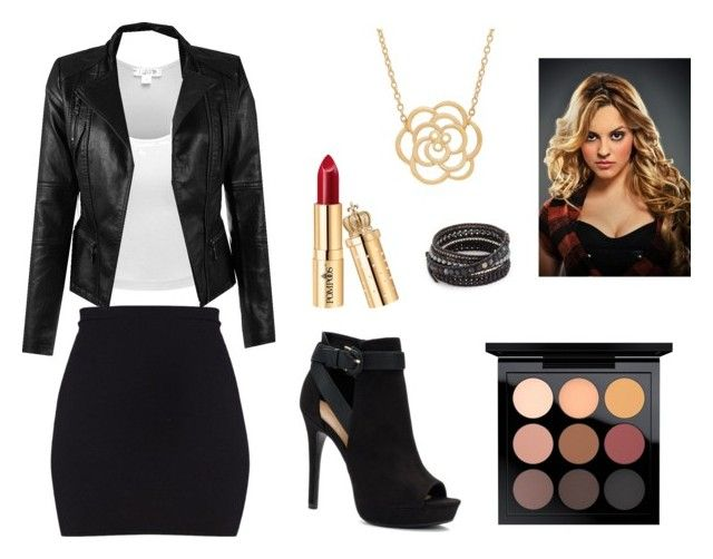 Teen wolf: Erica Reyes by britneyho on Polyvore featuring polyvore, fashion, style, Apt. 9, Lord & Taylor, Chan Luu, MAC Cosmetics and clothing