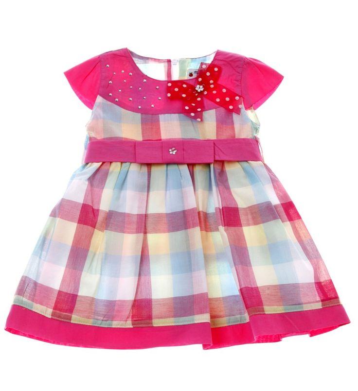 Εβίτα βρεφικό φόρεμα «Colours»  €16,50