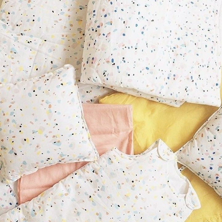 The Terazzo collection from @sweetcase is so incredibly gorgeous !! Hurry only 4 bumpers left from webshop @nouveau_rivage     #kidsinteriors_com #kidsinteriors #kidsinterior ##kidsbedding #nurserybedding #kidsdecor #decorforkids #kidsroomdecor #kidsroom #childrensroom #nursery #nurseryinspo #nurseryideas #babybedding #babyinspo #kidsinspo #chambreenfant #barnrum #kinderkamer #kinderzimmer #kidsdesign