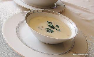 mutfak gazetesi: kremalı mantar çorbası