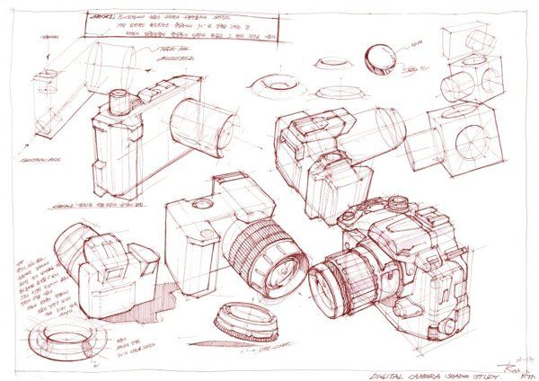 Black and White idea Sketch 2010 on Behance