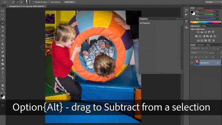 Photoshop Playbook:  Выборочная коррекция цвета Selective Color Manipulation