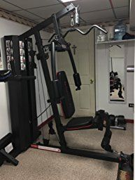Marcy MKM-81010 Stack Home Gym, 200 lb. Selectorized weight stack with protective steel weight stack enclosure Oversized seat pads 2″ thick, high density foam Large diameter steel tubing Dual function total leg developer Dual function arm press Now you can have gym quality exercises right at home. The MKM-81010 home gym, by Marcy, offers a …