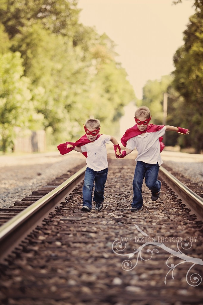 If I have two boys... super heroes - all boy