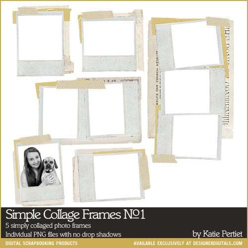 Simple Collage Frames No. 01