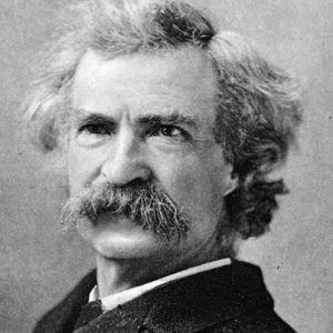 Mark Twain (Samuel Clemens), in Chronica