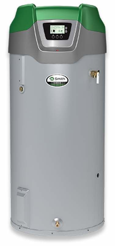 AO Smith GDHE-50-NG 50 Gallon Whole House Residential Natural Gas Water Heater w Grey Water Heaters Whole House Gas/Propane