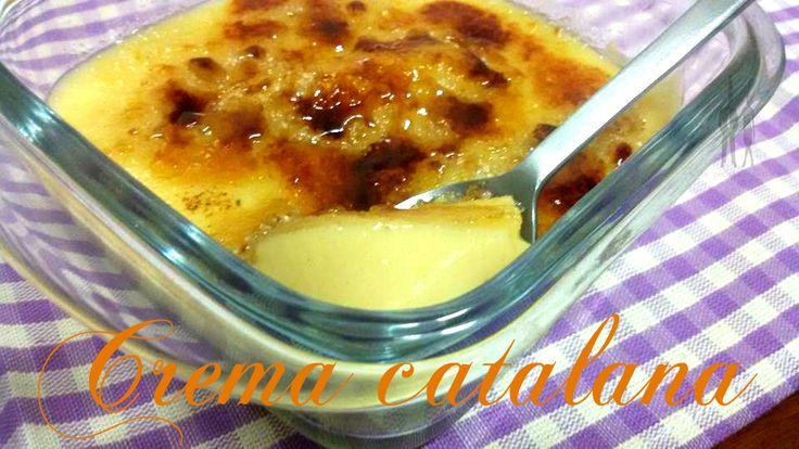 Crema Catalana al Microonde - Pasta, Patate e Fantasia