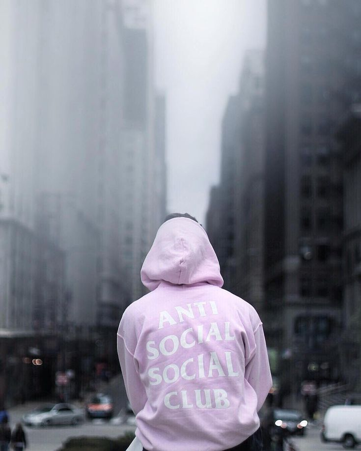 by hypebeast - #streetbeast: @brandonshoots in @antisocialsocialclub hoodie. Photo: @amaraabbas