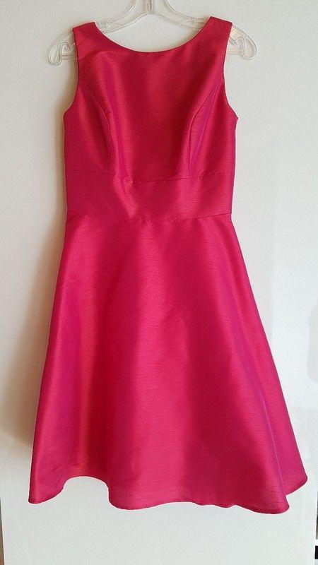 Schickes pinkes Kleid
