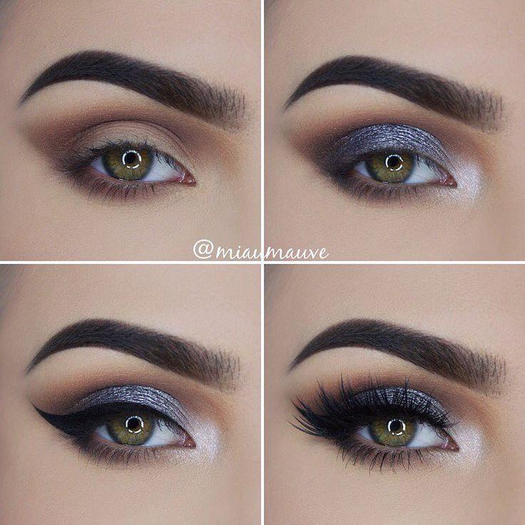 """✖️ Metallic eyes ✖️ Used: @bhcosmetics Foil Eyes 28 Color Eyeshadow Palette, Blushed Neutrals 26 Color Eyeshadow Palette, Studio Pro Waterproof Gel…"""