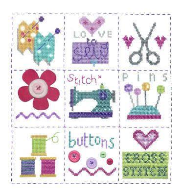 Sewing Sampler - Stitching Shed