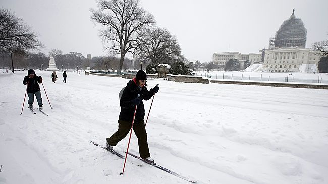 Record-breaking blizzard buries mid-Atlantic with over 2 feet of snow - The Blizzard of 2016 rattled the mid-Atlantic states on Friday and Saturday, producing widespread snowfall totals of 1 to 3 feet.
