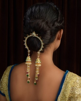 beautiful Indian Hair decoration tassled jewels so cute