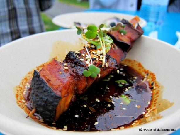 Ravintola Gaijin: Porkbelly yakiniku / Taste of Helsinki 2013