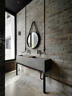 Industrial Design Bathroom 2445 Best Vintage Industrial Decor Bathroom Images On Pinterest