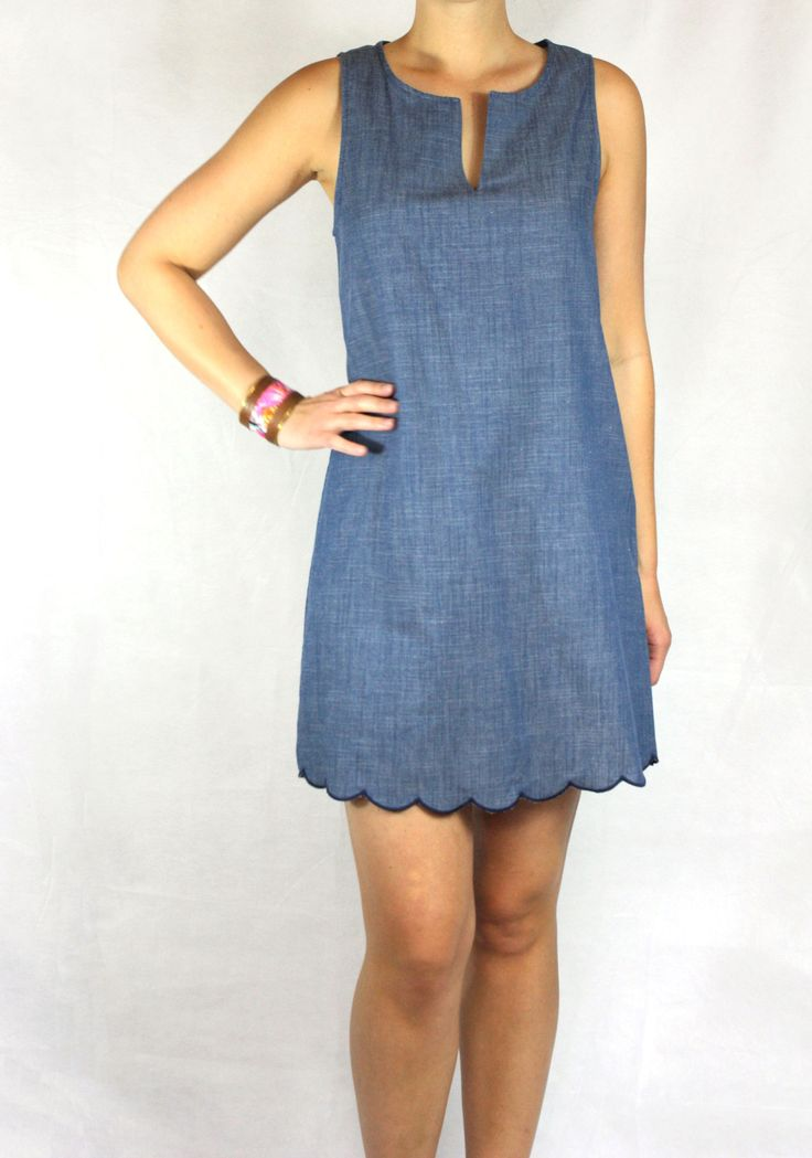 Stella Chambray Dress | Blue Jean Dress | Made in USA | Made in America | Ethical Fashion | Ethical Clothing