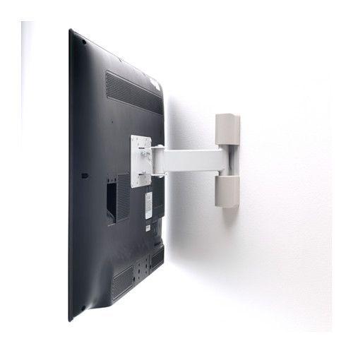 UPPLEVA Wall bracket för TV, tilt/swivel - - - IKEA