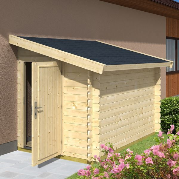 84 beste afbeeldingen over tuin op pinterest tuinen for Lean to shed attached to house