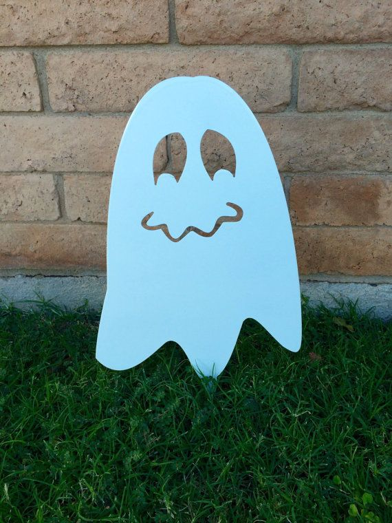 Halloween Ghost, Metal Ghost, Lawn Decor, Halloween Lawn Decor, Ghost, Outdoor Halloween Decorations, Halloween Decor, Aluminum