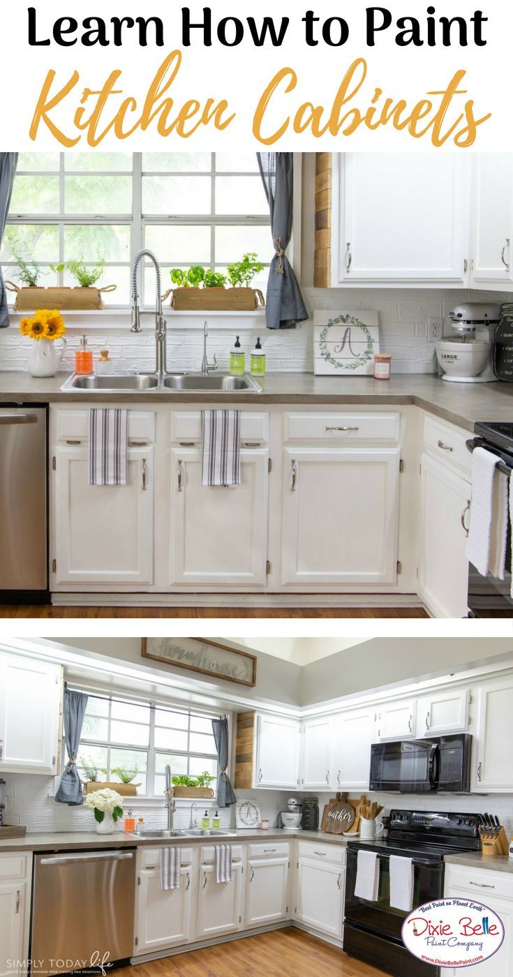 How To Paint Your Kitchen Cabinets Dixie Belle Paint Company Cheap Kitchen Cabinets Kitchen Cabinets Painting Kitchen Cabinets