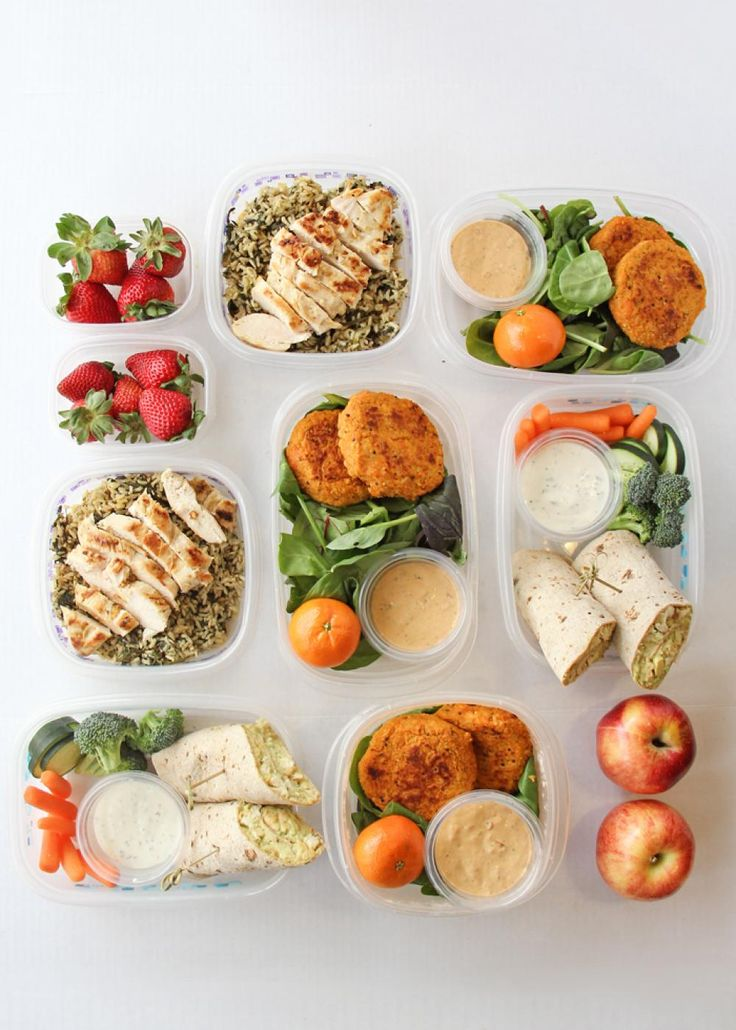 Prepare Seven Healthy Lunches For The Week | Litehouse Foods