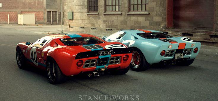 Pair of Australian Ford GT40s