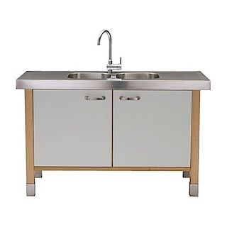 Find This Pin And More On Leslie Kitchen Ikea S Varde Sink Cabinet