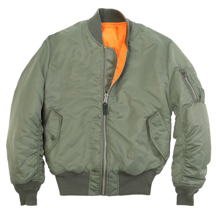 Alpha Industries MA-1 Regular fit. For layering. Mild Winters -4 to 5c