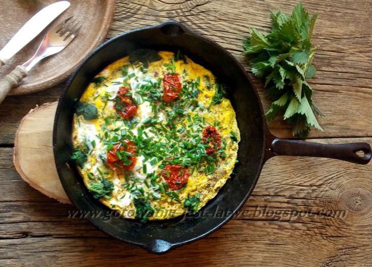 Gotowanie jest łatwe: Omlet z pokrzywami