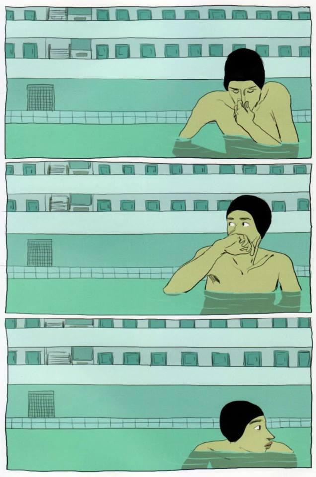 O Gosto do Cloro by Bastien Vivés | Ameixa Japonesa
