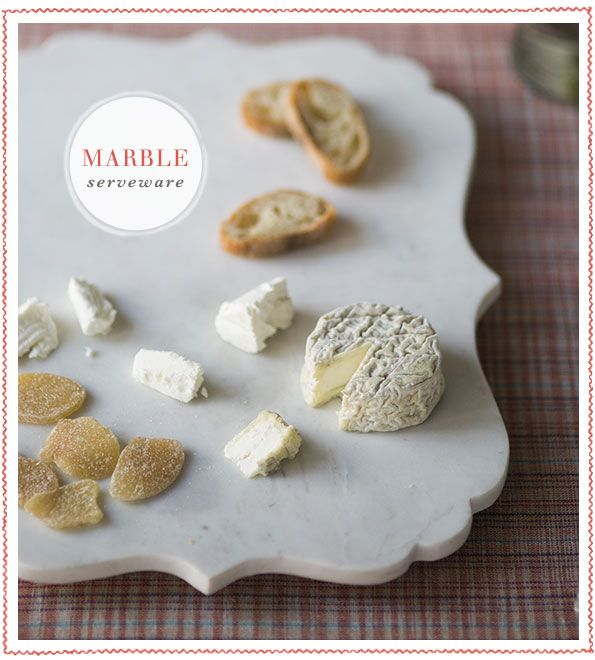 Marble Serveware
