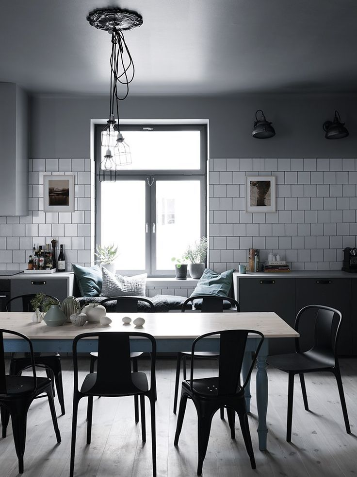Home in green and grey / cocolapinedesign.com
