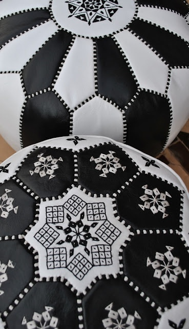 Beyond Marrakech: Moroccan Leather Pouffes