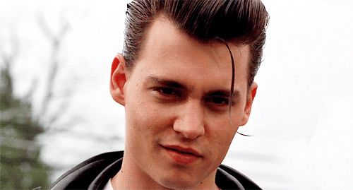"""Which Johnny Depp Character Is Your True Love?  Wade """"Cry-Baby"""" Walker (from the 1990 movie """"Cry-Baby"""") is your true love! He's sensitive yet rebellious, has some manners, and will French kiss you until your tongue hurts!"""