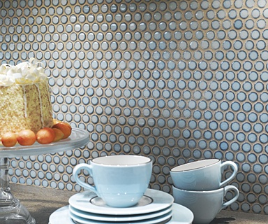 Best 20 Blue Penny Tile Ideas On Pinterest