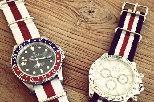 nice watches: Men S Style, Rolex Watches, Men S Fashion, Nato Bands, Americana Watches, Nato Watches, Men Watches, Nato Strap