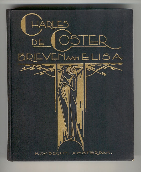 Book Cover Art Deco : Cover design unknown dutch art deco book