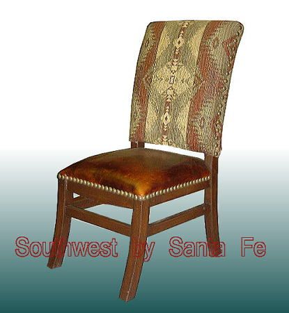 Southwestern Dining Chairs | Elegante Southwestern Style Chairs, LOVE this