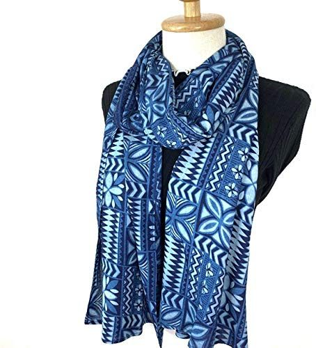 New Winter Scarf Sun Protection Hand Weaved Indigo Dyed Natural Fiber Soft Touch Scarf Women Men (#02) online shopping   – Womens Scarves