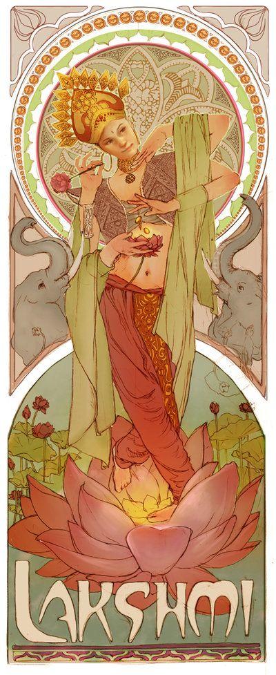 Lakshmi by ggatz.deviantart.com on @deviantART